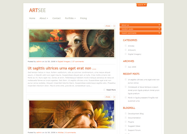 artsee-premium-wordpress-theme