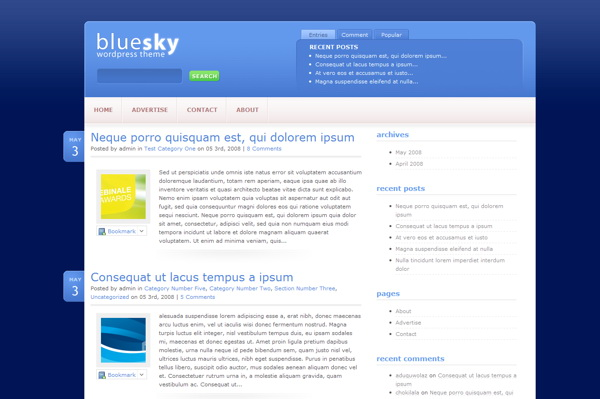 bluesky-premium-wordpress-theme