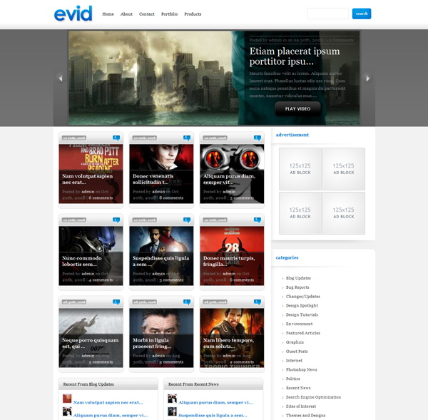evid-premium-wordpress-theme