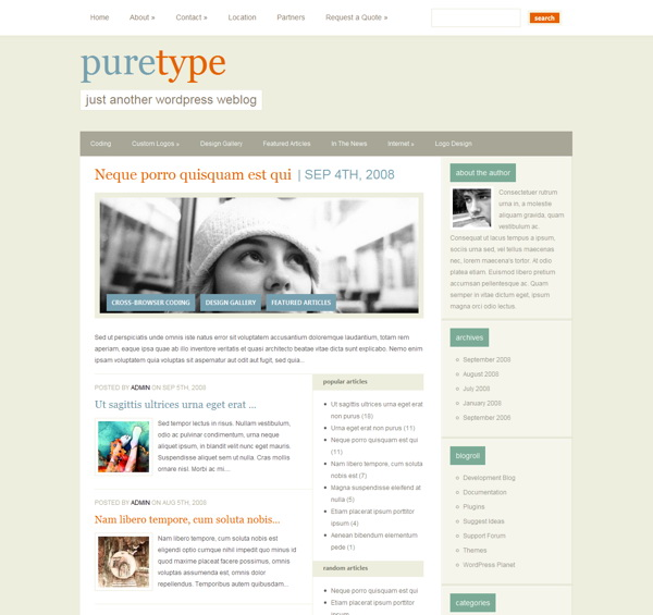 puretype-premium-wordpress-theme