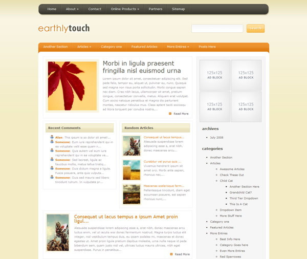 earthlytouch-premium-wordpress-theme