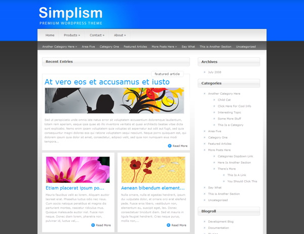 simplism-premium-wordpress-theme
